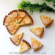 Шармик для слаймов Апельсиновый пирог