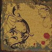 Скрапбумага серии Fantasy Черный дракон