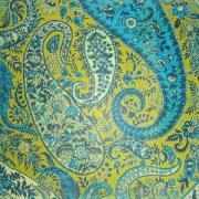 Бумага для скрапбукинга Artemio Зелено-голубые мотивы