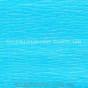 Креп-бумага Light turquoise, 32 г/м2, пр-во Ursus (Германия)