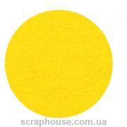 Фетр листовой желтый