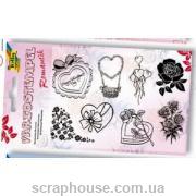 Набор силиконовых штампов Romantic