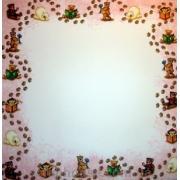 Бумага для скрапбукинга URSUS Зима Мишки