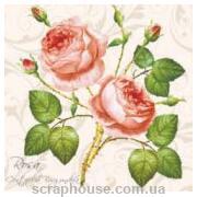 """Салфетка для декупажа """"Розовые розы"""""""