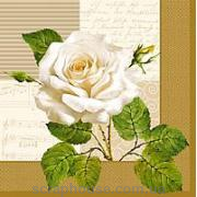 "Салфетка для декупажа ""Чайная роза"""