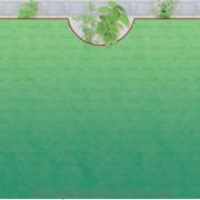 Бумага для скрапбукинга URSUS Зелень Мята