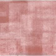 Бумага для скрапбукинга URSUS  Потертость квадраты бордо