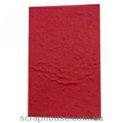 Заготовка для открытки красная