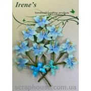 Набор цветов Лилии голубые