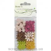 Маленькие цветы earth tones, 80 шт.