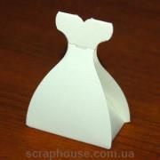 Упаковка к подарку Платье невесты