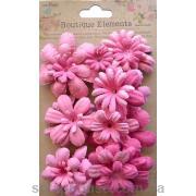 Набор цветов розовых Весенний сад Клубничные поля