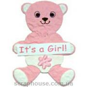 Aппликация Мишка It's a Girl!