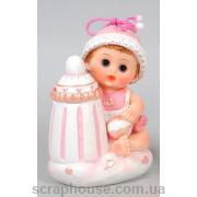 Статуэтка девочка с бутылочкой