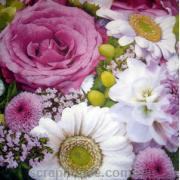 "Салфетка для декупажа ""Цветы"""