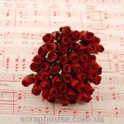 Бутоны роз красные