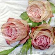 "Салфетка для декупажа ""Три розы"""