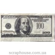 """Салфетка для декупажа """" Сто долларов"""""""