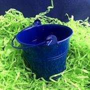 Ведерко декоративное синее