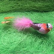 Декоративная фигурка птичка зеленая