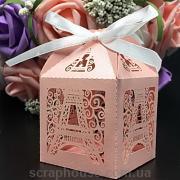 Упаковка к подарку, бонбоньерка Эфелева башня