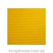 Гофрокартон желтый