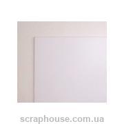 Картон мелованный односторонний 10х18см