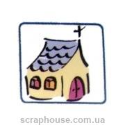 Штамп рехиновый Церковь