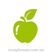 Штамп резиновый Яблоко