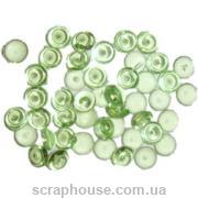марблз прозрачные капельки светло-зеленые