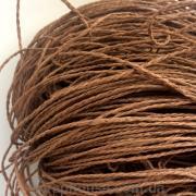 Бечевка декоративная коричневая