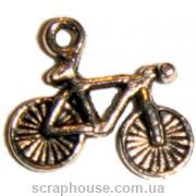 Металлическое украшение Велосипед