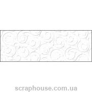 Картон дизайнерский с тиснением Барокко белый