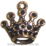 Металлическое украшение  Корона