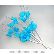 Веточки с колокольчиками голубые