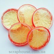 Апельсиновая долька декоративная