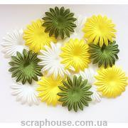 Набор цветов для скрапбукинга Лето