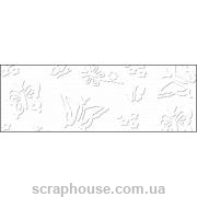 Картон дизайнерский с тиснением Барокко кремовый