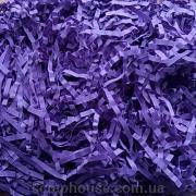 Рафия бумажная соломка сиреневая