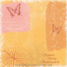 Бумага для скрапбукинга URSUS Бабочки