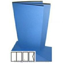 Заготовка для открытки синяя, размер 10,5х21 см