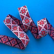 Лента-вышивка украинский узор, , украинская тематика