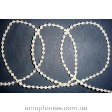 Жемчужная нитка, мелкие бусинки 2 мм
