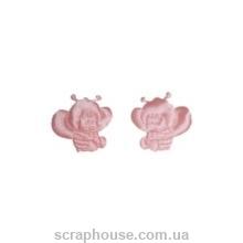 Пчелка Майя розовая атласная