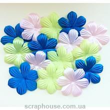 Набор цветов для скрапбукинга Ветерок