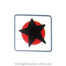 Штамп резиновый Звезда