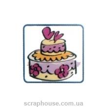 Штамп резиновый Торт