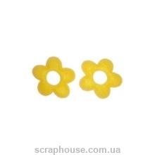 Аппликация из фетра Желтые цветы