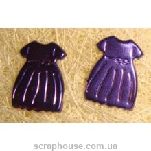 Брадсы Платья, в комплекте 2 шт., размер 1х1,5 см.