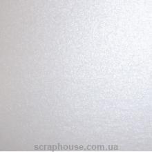 Бумага дизайнерская Белый Кристалл